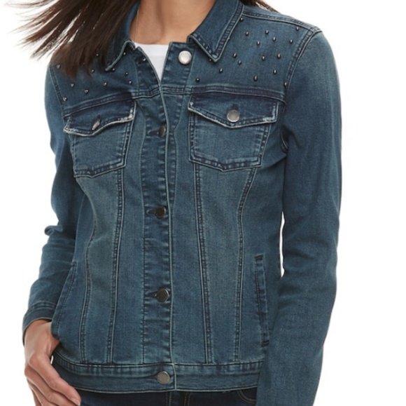 Juicy Couture Jackets & Blazers - Juicy Couture denim jacket size XL